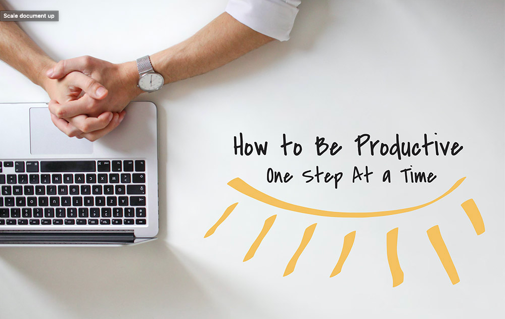 be productive infographic feature image